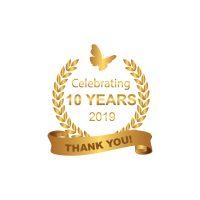 10 years logo FAP